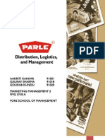 Parle G Sales and Distribution