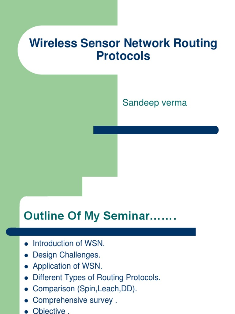 Routing techniques in wireless sensor networks ppt download.