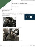 Motor de Arranque - Sistema Electrico de Motocicletas