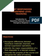 First Responders Awareness Level 03