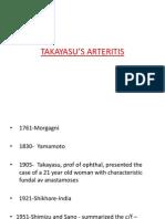 Takayasu Arteritis Ppt
