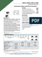4N37 Opto Salida Transistor