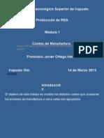 Modulo 1 Costos de Manufacura