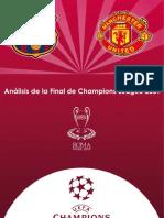 Anlisis Final Champions Barcelona-- Manchester