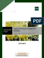 Guia Didactica General Grado 2013