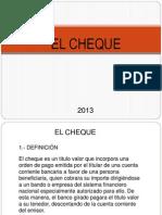 CHEQUE G 2