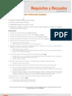 Hoja Requisitos y Recaudos Automotriz Pn Usado10!01!2013