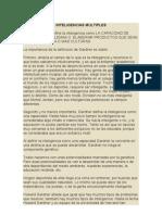INTELIGENCIAS MÚLTIPLES y estrategias de aprendizaje  archivo original