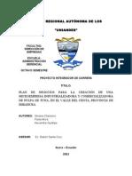 Proyecto Integrador, Pulpa de Tuna.doc