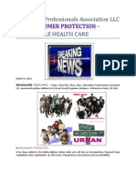 Milwaukee Professionals Association LLC adds CONSUMER PROTECTION - AFFORDABLE HEALTH CARE.pdf