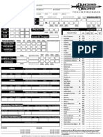 d&d 3.5 - Ficha de Personagem