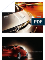 2010 Civic Coupe Online Brochure
