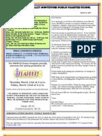 Newsletter 130314