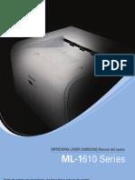 Manual Impresora Samgung ML-1610