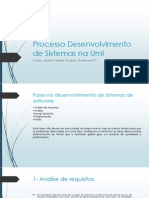 Processo Desenvolvimento de Sistemas Na Uml 2