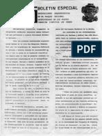 1989, Boletin Especial FCLR, Excavaciones Arqueologicas en El PNALR, 6 p.
