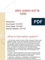 Information System and Types
