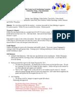 Drug Free Minutes January 2013