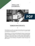 Kirkegor exégeta. P. Leonardo Castellani - Federico Ledesma.doc