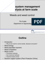 Agroecosystem Management Weed2013