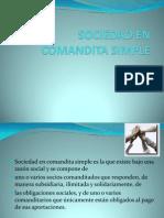 Diapositivas Sociedad en Comandita Simple