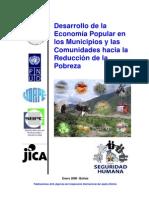 Economia Popular Reduccion de La Pobreza Jica
