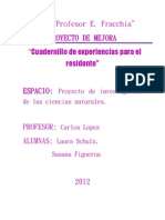 PROYECTO de MEJORA Laura Schulz- Susana Figueroa