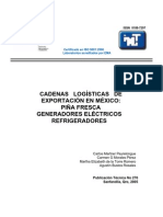 cadenas logisticas de exportacion en mexico piña fresca