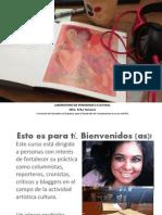 REA Erika Tamaura, Laboratorio de Periodismo Cultural.