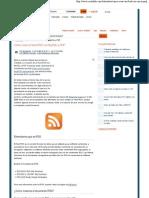 Cómo crear un feed RSS con MySQL y PHP