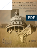 Expanding Medicaid in Texas - Smart Affordable and Fair