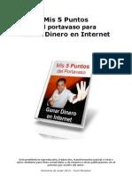 5 Puntos Portavaso