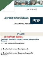 Contrat Banquaire