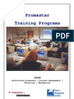 Promastar Training Programs