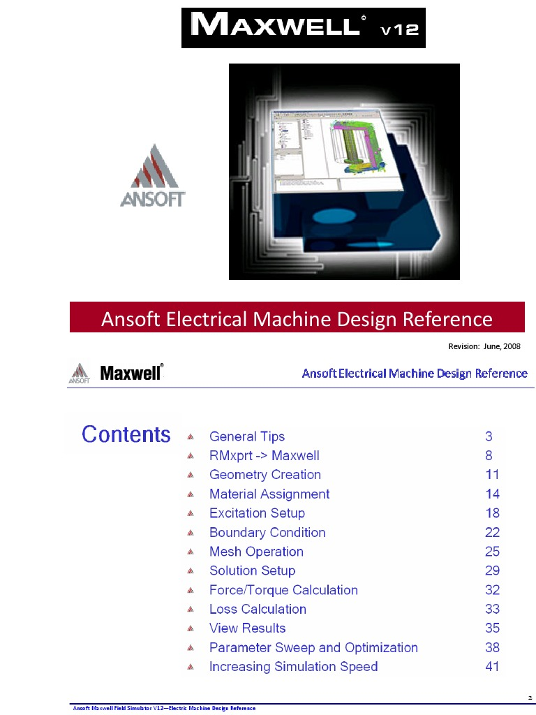 ansoft maxwell v12 2d user guide machine design reference guide rh pt scribd com ansoft maxwell 3d user guide pdf ansoft maxwell 3d v11 user guide