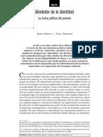 Alrededor de la identidad. Las luchas políticas del presente - Mabel Bellucci y Flavio Rapisardi
