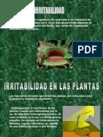Irritabilidad de las plantas