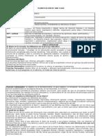 Planificacin Clase Lenguaje Escrito (Didctica)