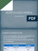 MORFOLOGÍA VERBAL. EL IMPERATIVO.pptx