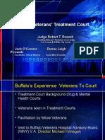 Buffalo Veterans' Treatment Court Judge Robert T. Russell Presiding