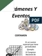 Eventos y Certamenes