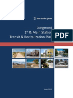 Longmont 1st & Main Station Transit and Revitalization Plan