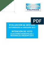 Sondeos Politicos Marzo 2013