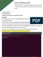 Hadoop Installation Guide