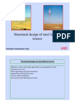 Structural Design of Steel Latticed Towers[1]