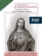 Devocion Al Sagrado Corazon de Jesus 9 Primeros Viernes