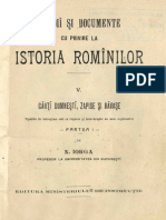 DIR, Iorga, 05 (Carti Domnesti, Zapise Si Ravase 1)