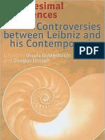 Infinitesimal Differences - Controversies between Leibniz and his Contemporaries