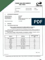 Informe Muestreo y SPLP