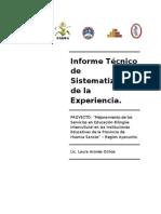 InformeTécnicoSistematización FINAL